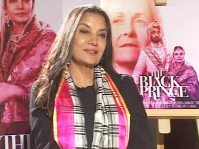 Video : Shabana Azmi On Recreating History In <i>The Black Prince</i>