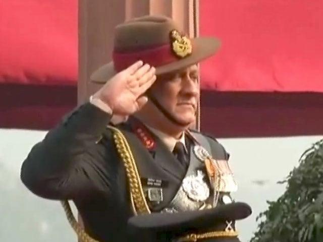 Videos : नेशनल रिपोर्टर : कश्मीर पर जनरल की ललकार पर सियासत