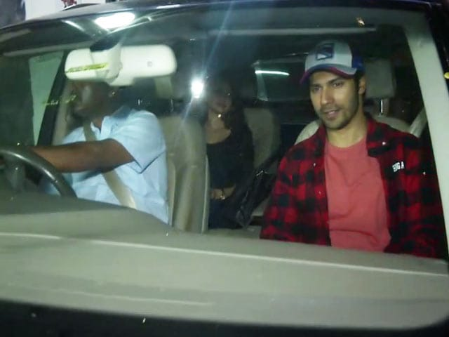 Bollywood Stars At A Special Screening of Priyanka Chopra Starrer Baywatch