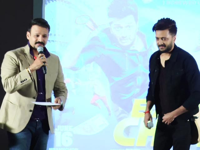 Vivek Oberoi Takes On Riteish Deshmukh