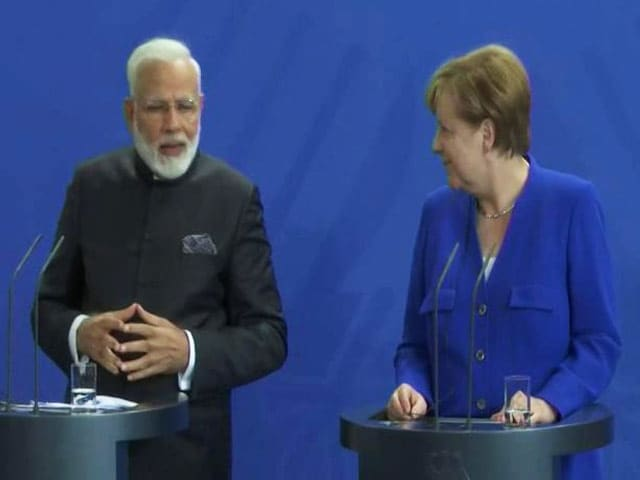 Video : India-Germany Made For Each Other, Says PM Modi After Talks With Merkel