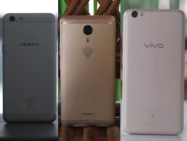 ओप्पो एफ3 बनाम वीवो वी5एस बनाम जियोनी ए1: बेस्ट मिड-रेंज सेल्फी फोन कौन?