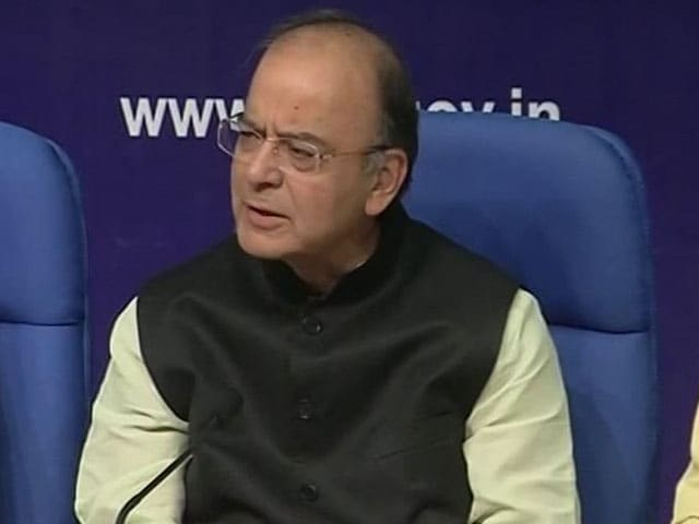 Video: We Restored Credibility In Economy, Says Arun Jaitley