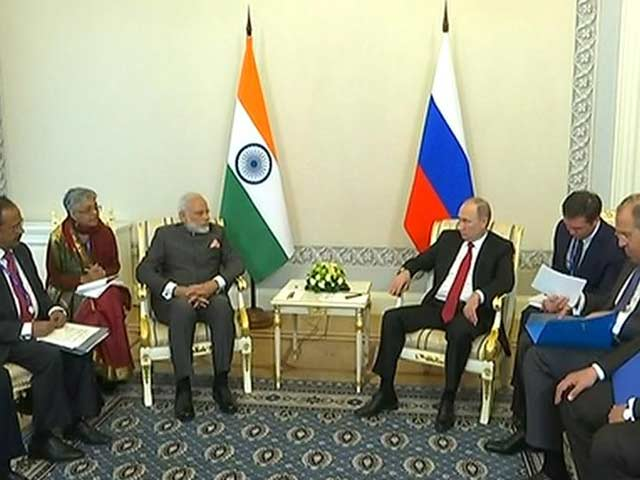 Video : Relations With India Won't Be Diluted Due To Growing Ties With Pak: Putin
