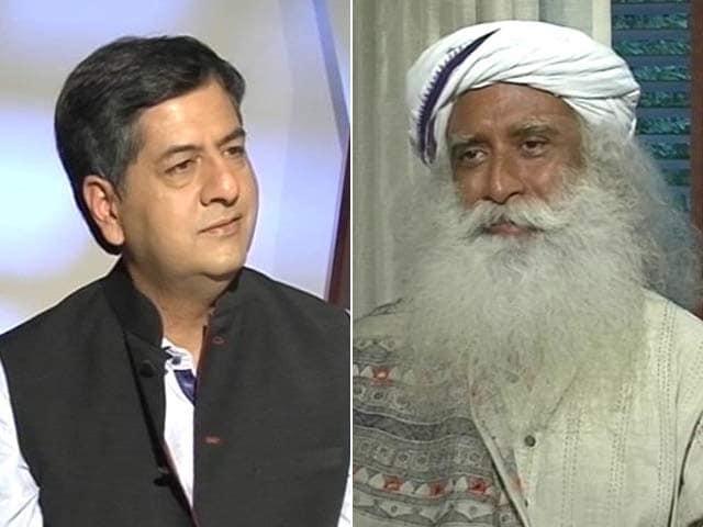 Video : Exclusive: Sadhguru Jaggi Vasudev On Anger And Tackling Trolls