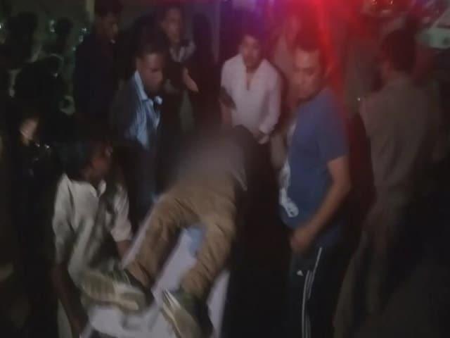 Video : इलाहाबाद : ठेकेदार की गोली मारकर हत्या