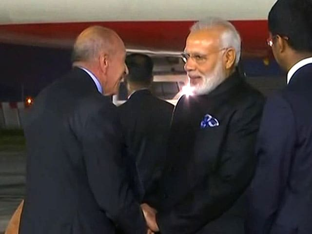 Video : PM Narendra Modi Arrives In France On Last Leg Of 4-Nation Tour