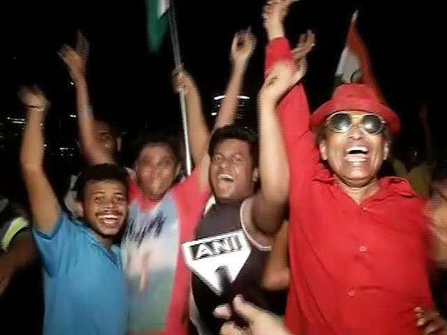 Video : Indian Fans In Jubilant Mood After Team's Win Over Pakistan