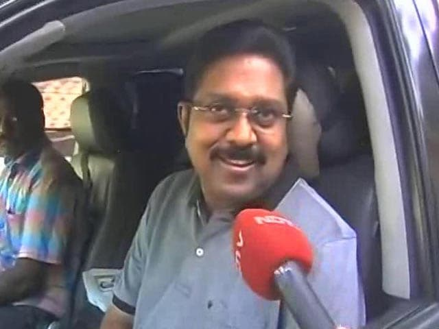 Video : Return From Jail Is Comeback, Says Dinakaran. First Stop, Aunt Sasikala