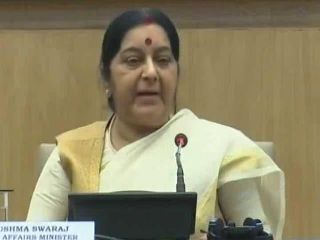 Videos : सुषमा स्वराज ने पेश किया विदेश मंत्रालय के 3 साल के कामकाज का लेखा-जोखा