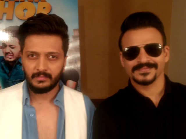 Video : Riteish And Vivek Tell You What <i>Bank Chor</i> Is All About