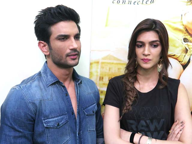 Rapid Fire With Kriti Sanon and Sushant Singh Rajput