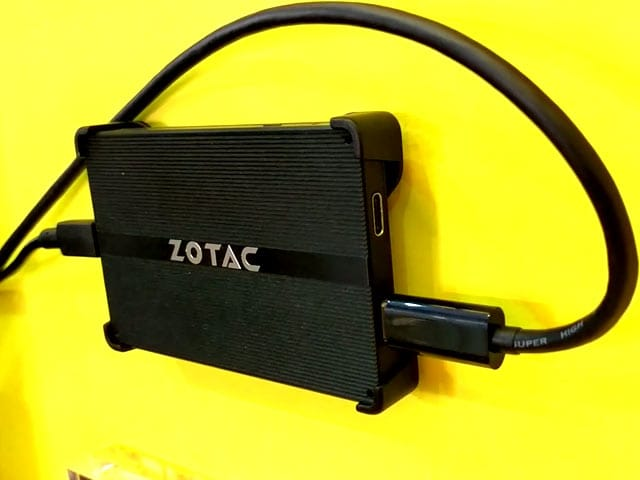 Video : Zotac Zbox P First Look