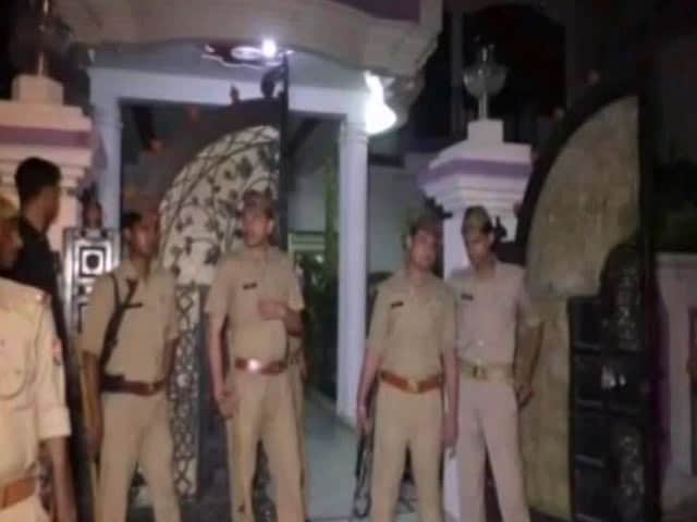 Video : Businessman, Wife, Son Shot Dead Outside Their House In UP's Sitapur