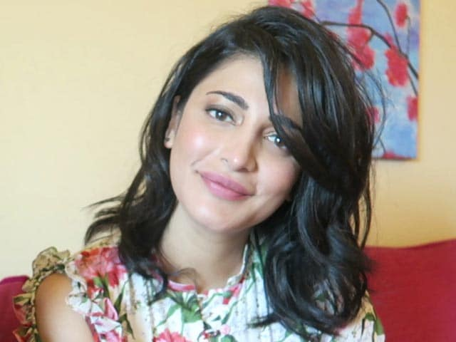 Video : Shruti Haasan On Music, Movies And More