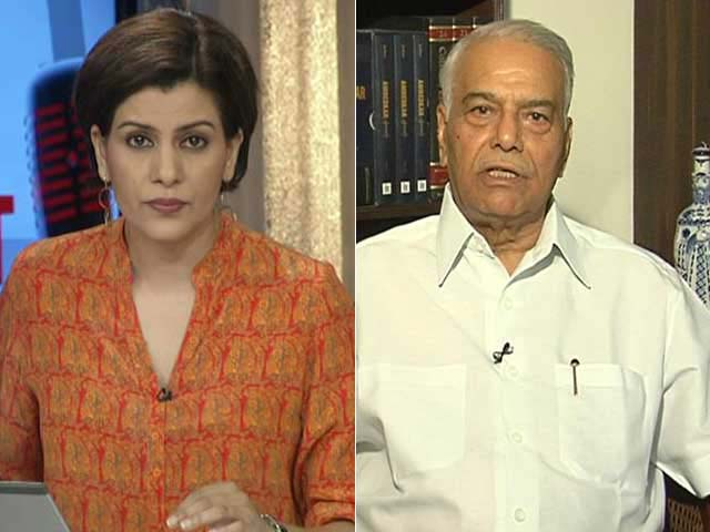 Video : 'Government Can Talk To Others In Kashmir, Why Just Hurriyat?' Yashwant Sinha To NDTV