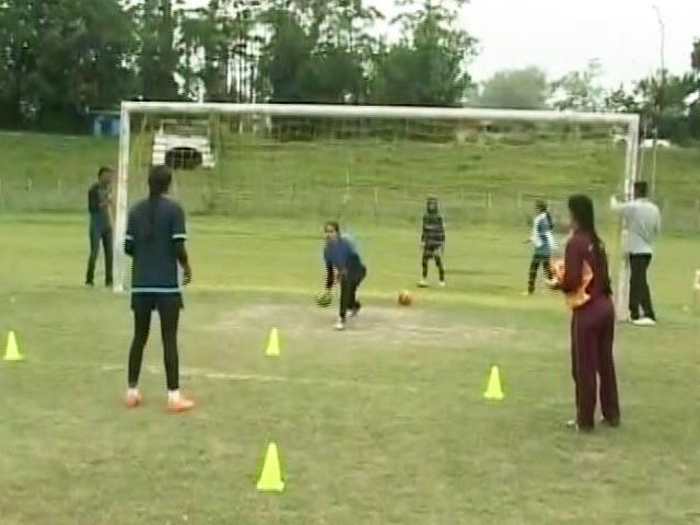 Video : In Face Of Odds, Kashmir Now Has Its Own Girls' Football Team