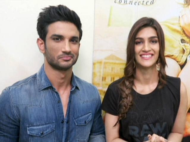 Sushant And Kriti On Their Raabta Connection