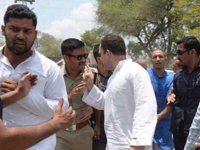 Video : 5-Hour Showdown As Rahul Gandhi Is Briefly Arrested On Way To Mandsaur