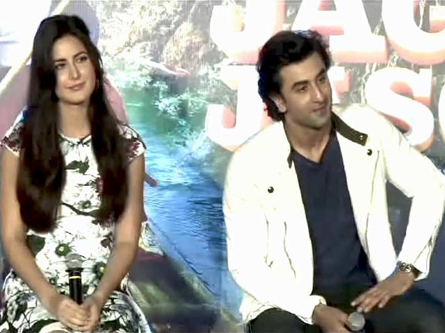 Katrina Kaif and Ranbir Kapoor Are Back To Promote Jagga Jasoos
