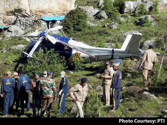 Video : Engineer Killed, 2 Pilots Injured In Badrinath Helicopter Crash