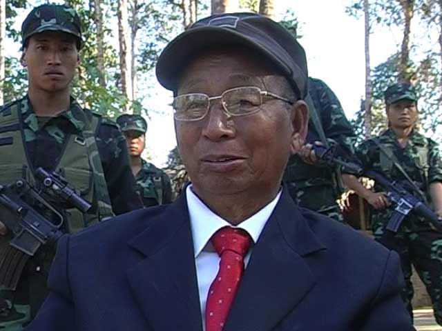 Video : Most Wanted Naga Rebel Leader SS Khaplang Dies At 77