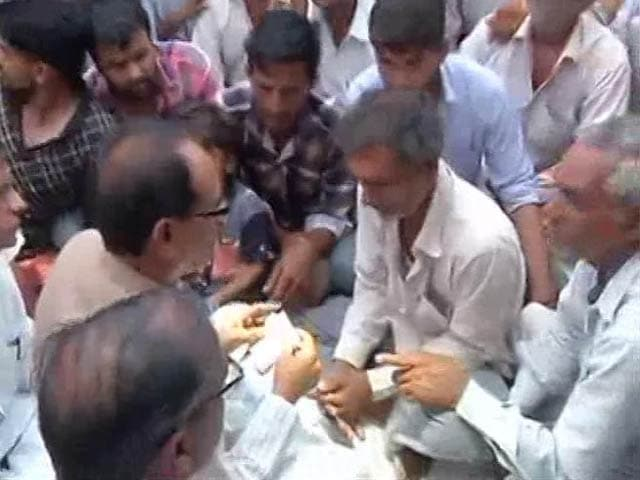 Video : Shivraj Chouhan Visits Families Of Farmers Killed In Mandsaur