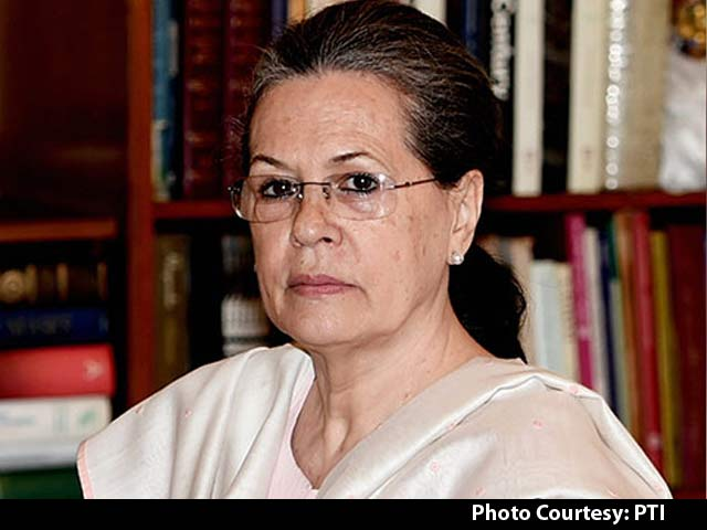 Video : 'Thank God For Election Commission': Sonia Gandhi On Ahmed Patel's Win