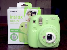 Fujifilm Intax Mini 9 Instant Camera Unboxing and First Look
