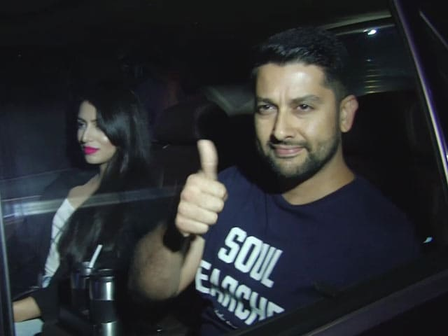 Celebs At Bank Chor Special Screening