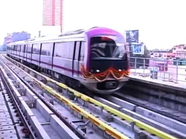 Video : Amid Delays, Bengaluru's Namma Metro To Finally Roll On Saturday