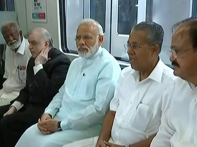 Video : Prime Minister Narendra Modi Launches Kochi Metro, Says Coaches Reflect 'Make In India' Vision