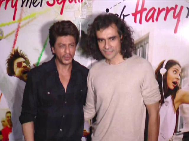 Video : SRK And Imtiaz Ali Introduce Mini Trails of <i>Jab Harry Met Sejal</i>