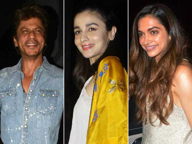 SRK, Ranbir, Alia & Deepika At Imtiaz Ali's Birthday Bash