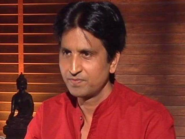 Video : Kumar Vishwas' Swipe After Poster Called Him 'Traitor': 'AAP's Palace Politics'