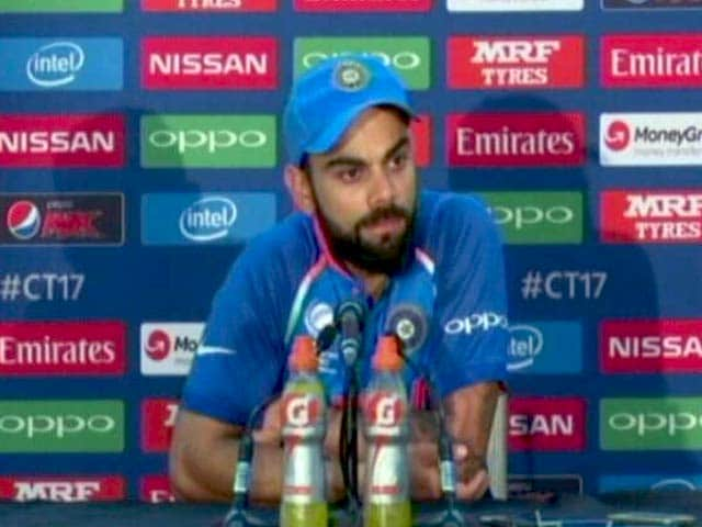 Video : Pakistan Played Really Good Cricket And Deserved To Win: Virat Kohli