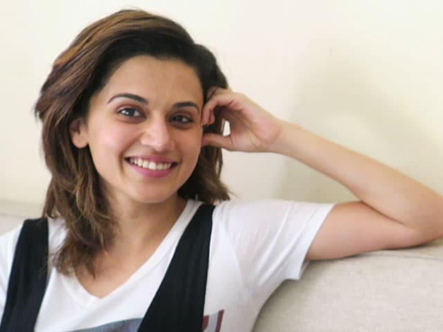 Taapsee Pannu On Her Glam Look in Judwaa 2 And More
