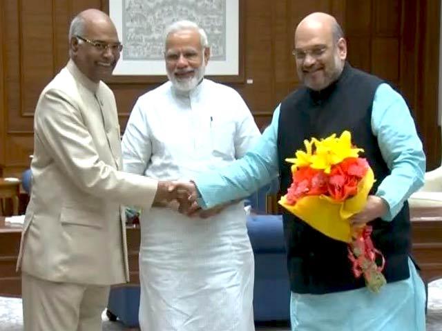 Video : इंडिया 8 बजे : रामनाथ कोविंद होंगे देश के अगले राष्ट्रपति?