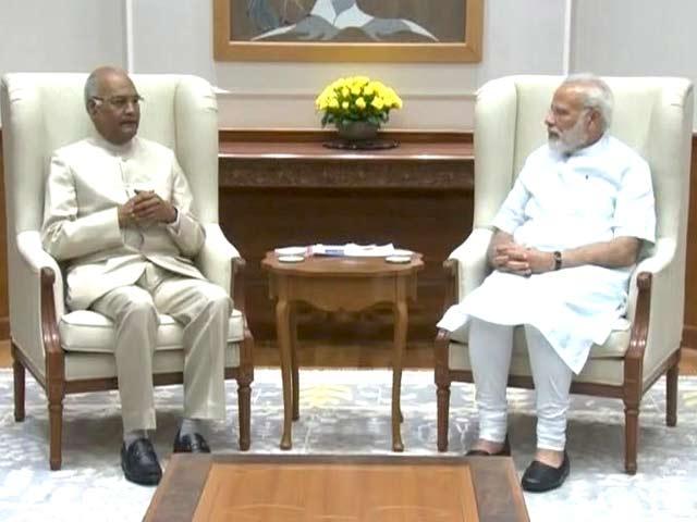 Videos : नेशनल रिपोर्टर : रामनाथ कोविंद ने प्रधानमंत्री से की मुलाकात