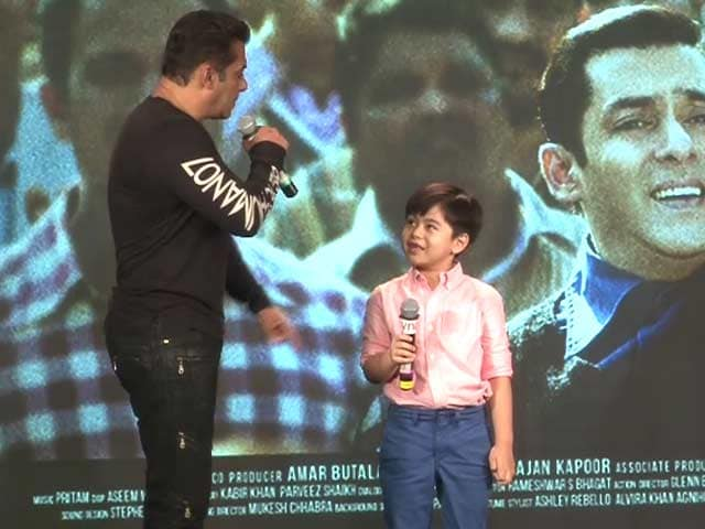 Video : <i>Tubelight's</i> Child Actor Is As Entertaining As Salman Khan