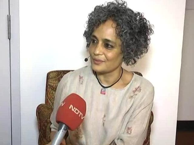 Video : It's About 'The Air We Breathe In India': Arundhati Roy On Her Novel