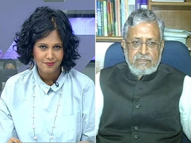 'Can't Advise Nitish Kumar On Allying With BJP,' Says Sushil Modi