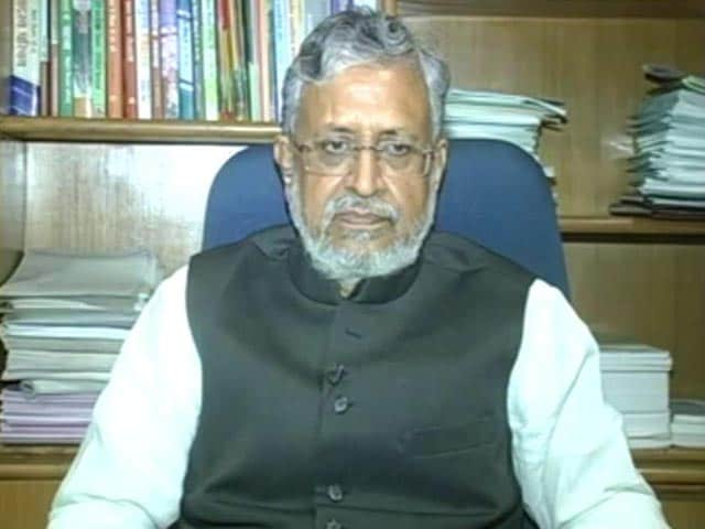 'Leaders From Nitish Kumar's Party Helped Expose Lalu Yadav,' Says BJP Leader Sushil Modi