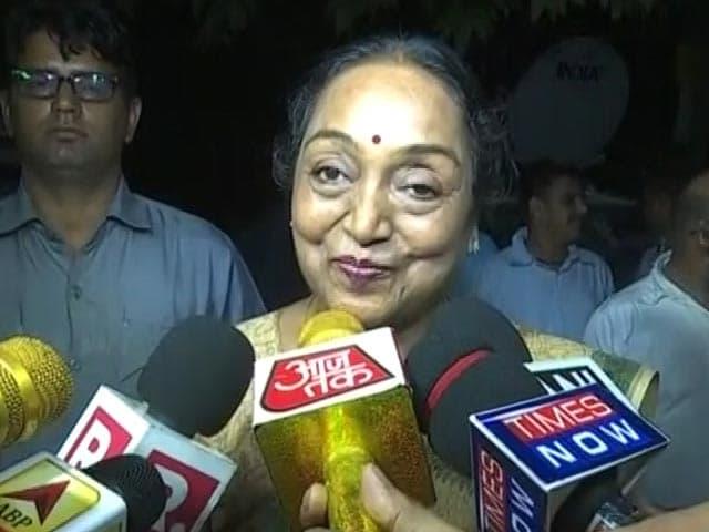 Video : राष्ट्रपति चुनाव में अपनी उम्मीदवारी पर क्या बोलीं मीरा कुमार