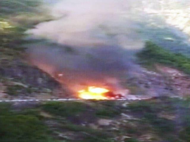 Videos : उत्तराखंड : हाइवे-58 पर गैस सिलिंडर से भरे एक ट्रक में आग