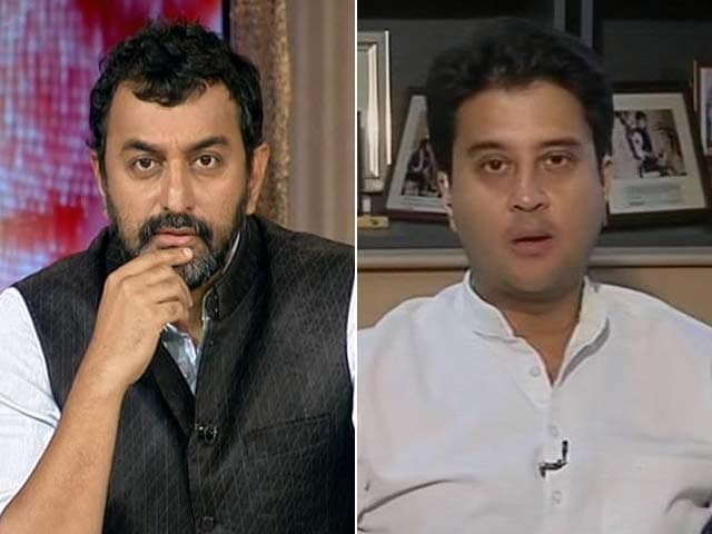Video : Rahul Gandhi Absence Not Big Deal, He's In Touch: Jyotiraditya Scindia