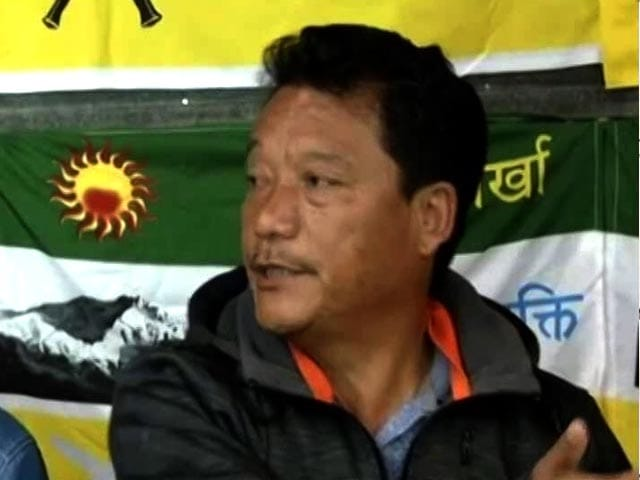 Video : Come And Raid My House, I'm Right Here: GJM Chief Bimal Gurung