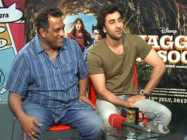 Video : Ranbir Says 'Red Circle Theory' Got Him And <i>Jagga Jasoos</i> Director Together