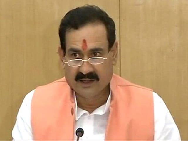 Video : Election Panel Disqualifies Madhya Pradesh Minister For Alleged Corruption
