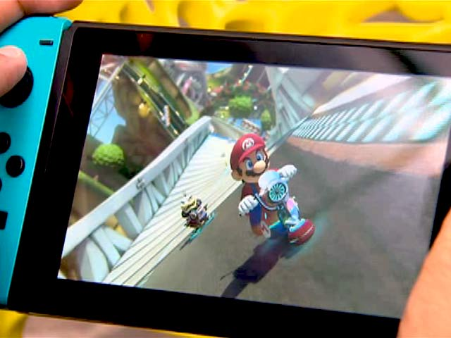 Video : Mario Kart 8 Deluxe on the Nintendo Switch